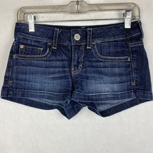 American Eagle Blue Jeans Stretch Shorts